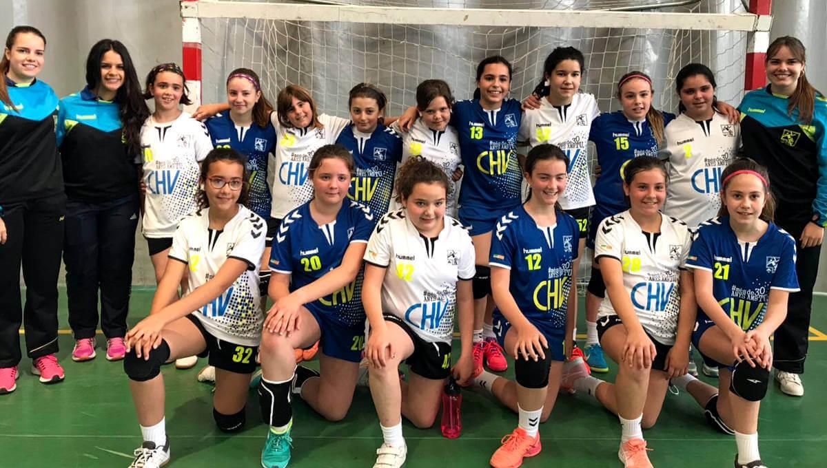 Club Handbol Vilanova alevines Jocs Escolars maig 2018-1200