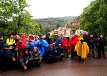 Colla Excursionista Salas de Pallars i Rivert maig 2018- Foto Jaume Sayos