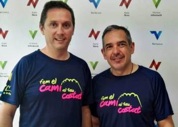 David Devant i Ramon Roig 7a caminada Mossos Fem cami al teu costat (3)-720