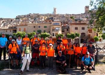 Colla Excursionista Guimera a Vallbona de les Monges Foto J Sayos-1200