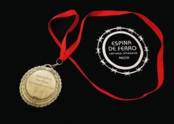 Espina de ferro medalla or estiu 2018-v22