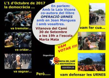 Vilanova x la Independencia comemoracio 1Oct 2018-cartell-v22