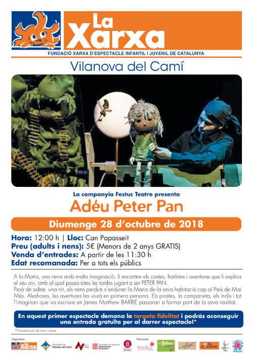 xarxa adeu peter pan oct18