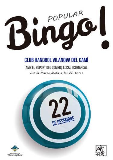 BINGO CH Vilanova des 2018