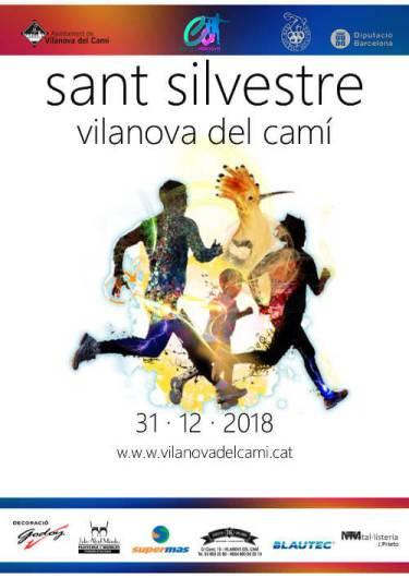 Cursa Sant Silvestre 2018 cartell