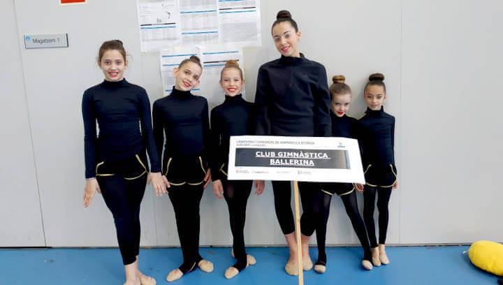 CG Ballerina 1a jornada comarcal març 2019