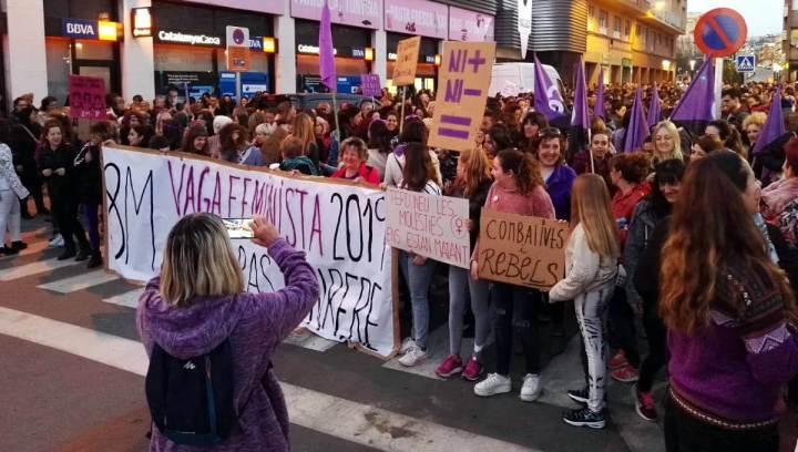 Manifestacio 8M a Igualada 7