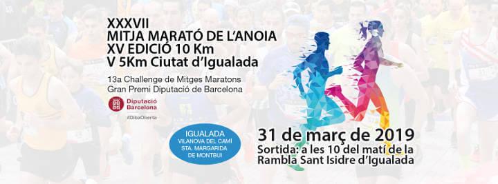 Cartell Mitja Marató 2019