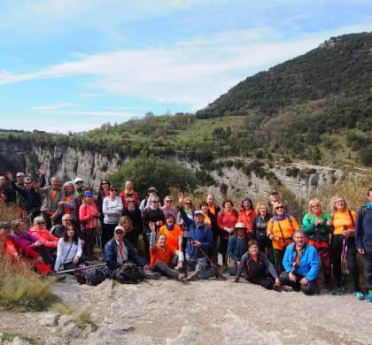 La Colla Excursionista visita Rupit i el Salt de Sallent a la comarca de la Garrotxa