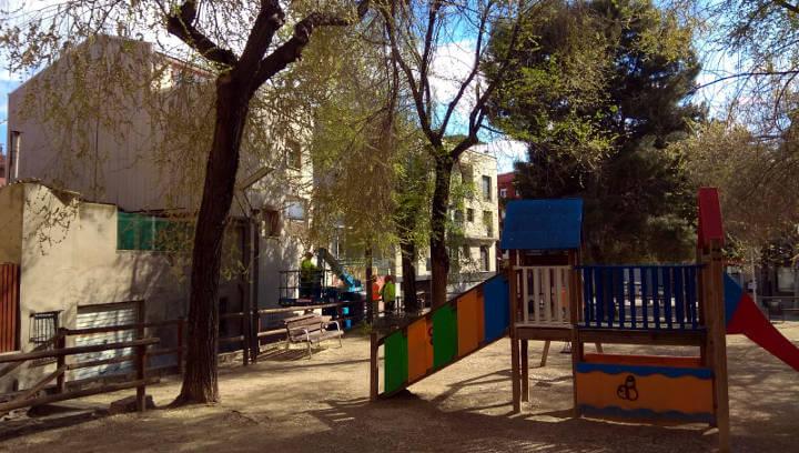 Parc de la  Pl Picasso abril 2019