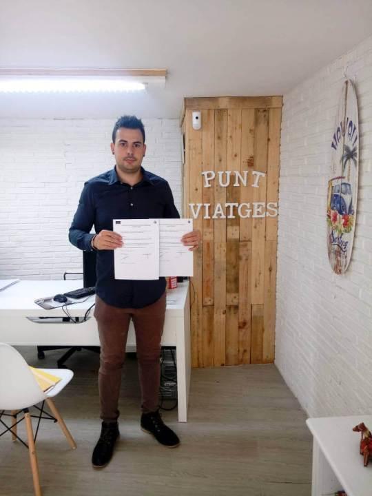 Conveni punt viatges i vilanova comerç 2019