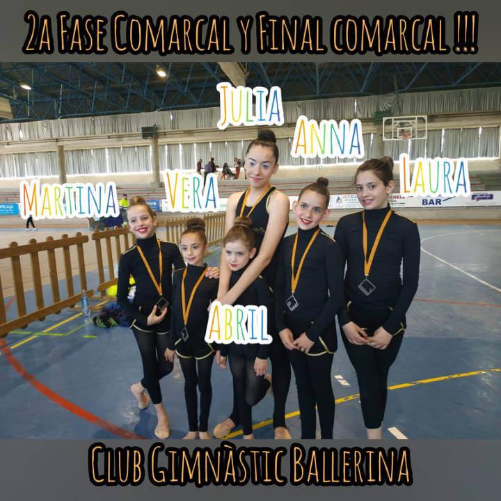 gimnastica Ballerina jocs escolars 2019 1