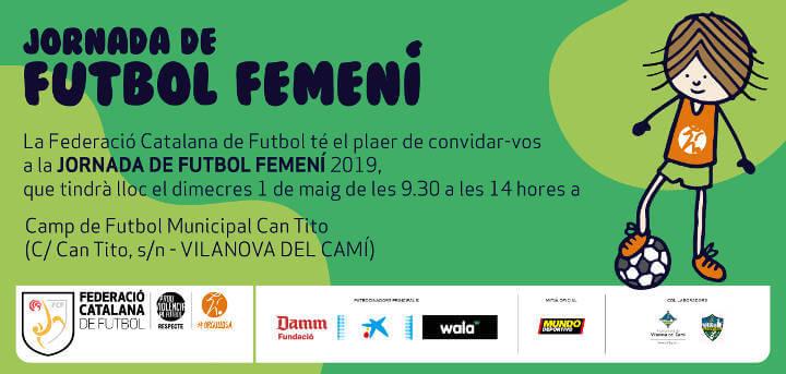 invitacio jornada futbol femeni Anoia