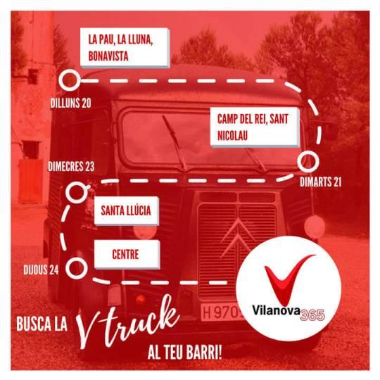 Busca la VTruck cartell
