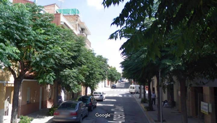 Plataners al carrer Anselm Calve Foto Google Maps