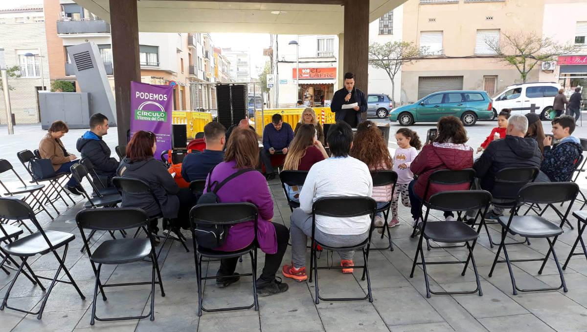 Podemos presentació 7 maig 19