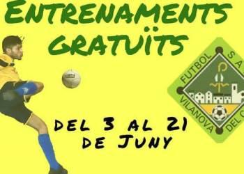 Futbol sala entrenaments gratis juny-imatge