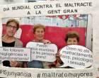 Vilanova pren consciència contra l'abús i el maltractament a la gent gran i fan visible el fenomen a les xarxes socials