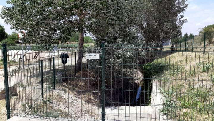 Tanca de protecció dels horts 1 juny 2019