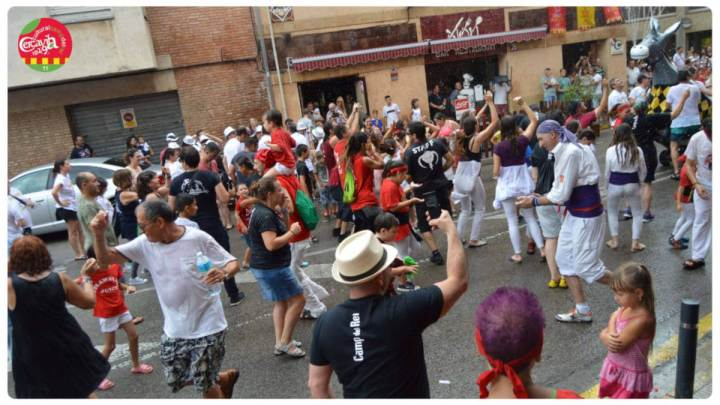 Imatge Festa popular Camp del Rei 2019