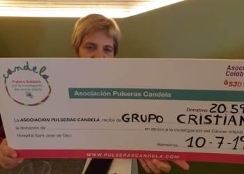 Pulseras Candela Grupo Cristian entrega juliol 2019