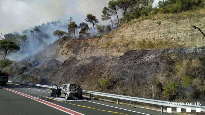 cotxe cremat incendi capellades juliol 19 v2
