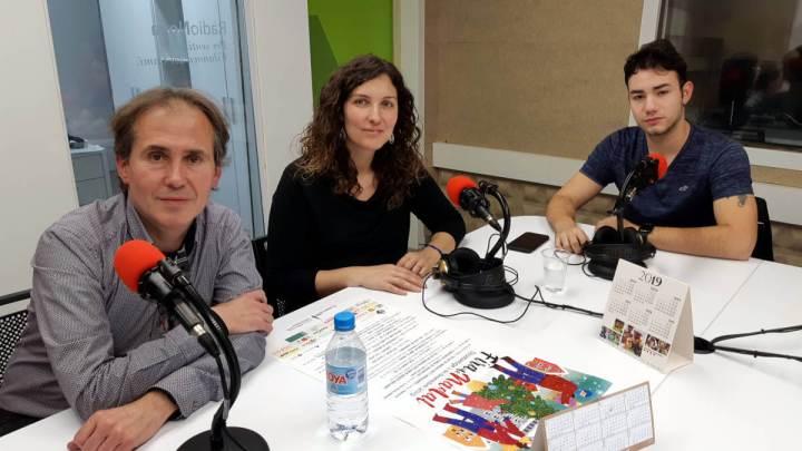 Jordi Vilarrubias, leonor García i Adrià Muñoz