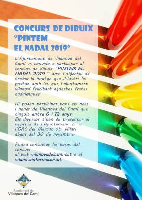 Pintem el Nadal 2019 color
