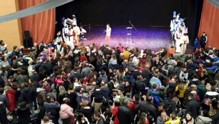 El Patge Makalí parla als nens de Vilanova del Camí 2