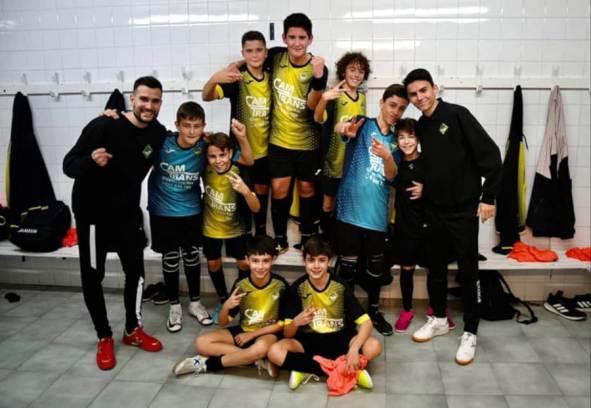 Infantil passa de ronda de Copa Catalunya-v1 Foto Fran Rey