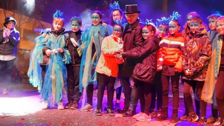 Carnaval Maristes foto Cultura Igualada