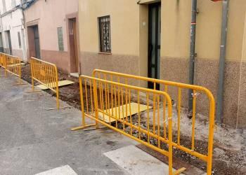 Obres carrer Sant Josep