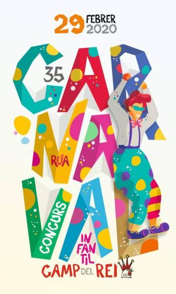 carnaval infantil 2020 cartell