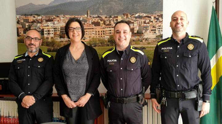 nou agent policia local