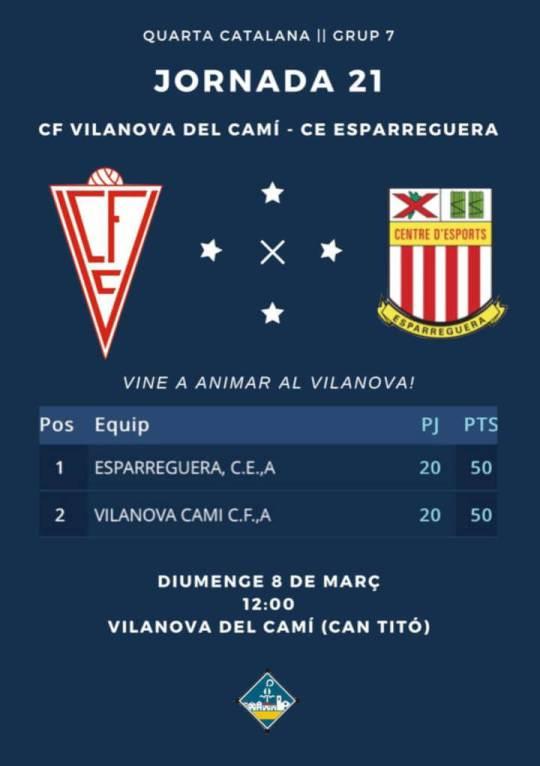 Cf Vilanova cartell mar20