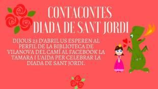 Contacontes Sant Jordi-fons