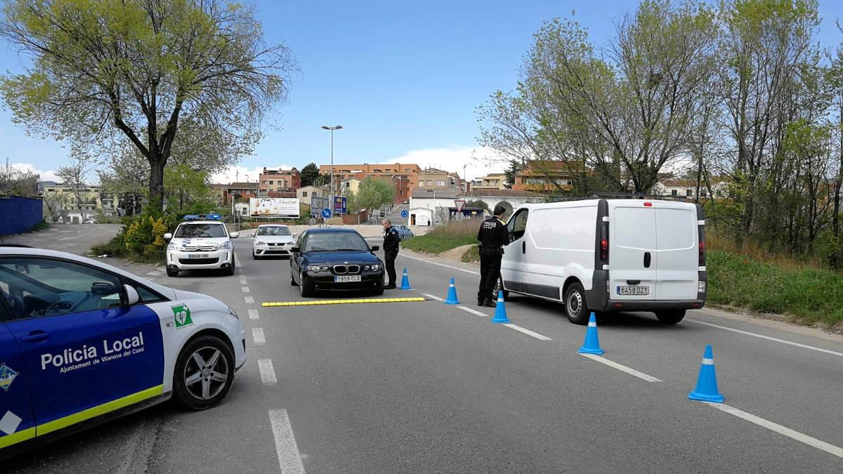 Controls policials