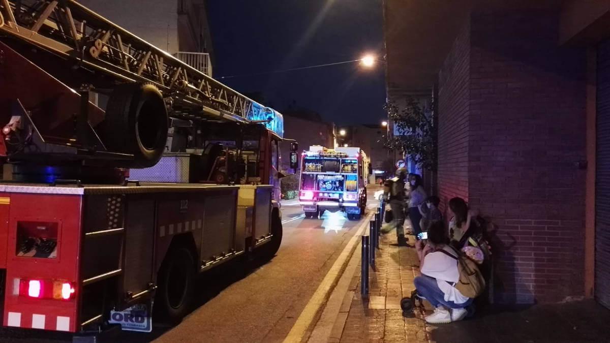 Incident carrer montserrat 22 maig