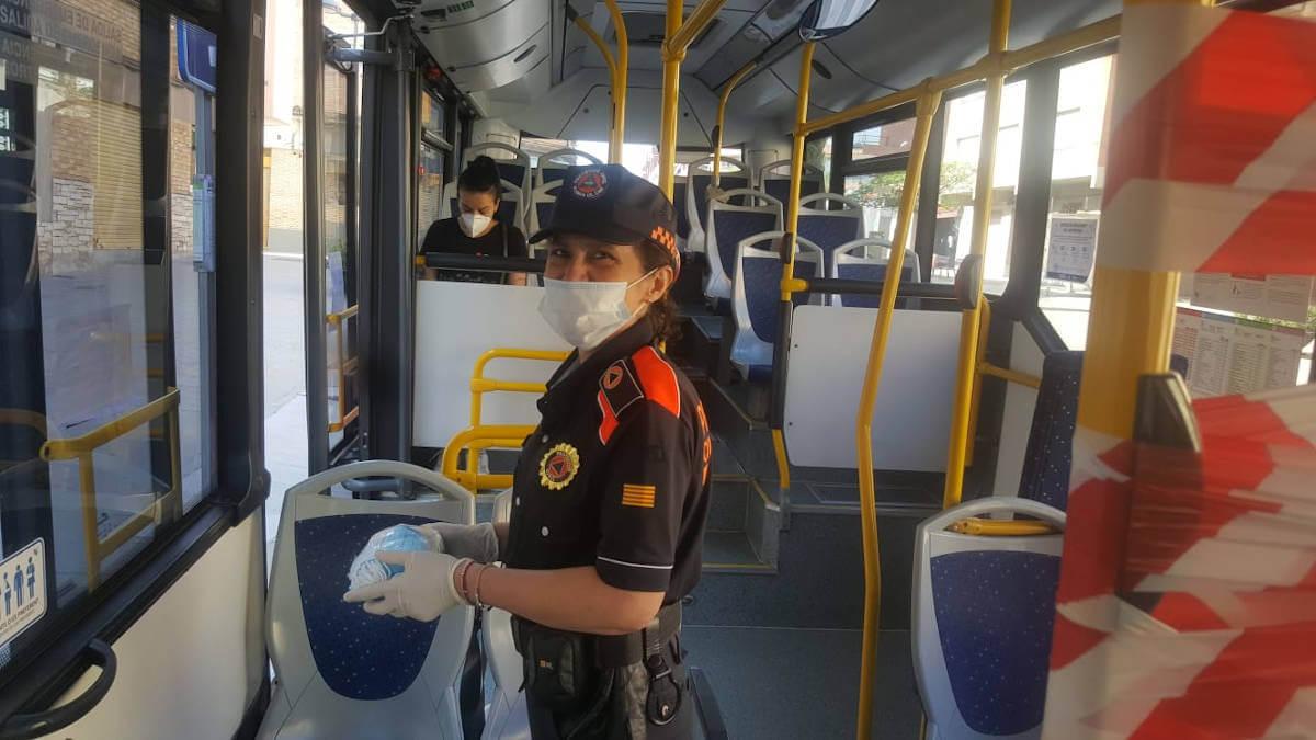 Proteccio civil mascaretes