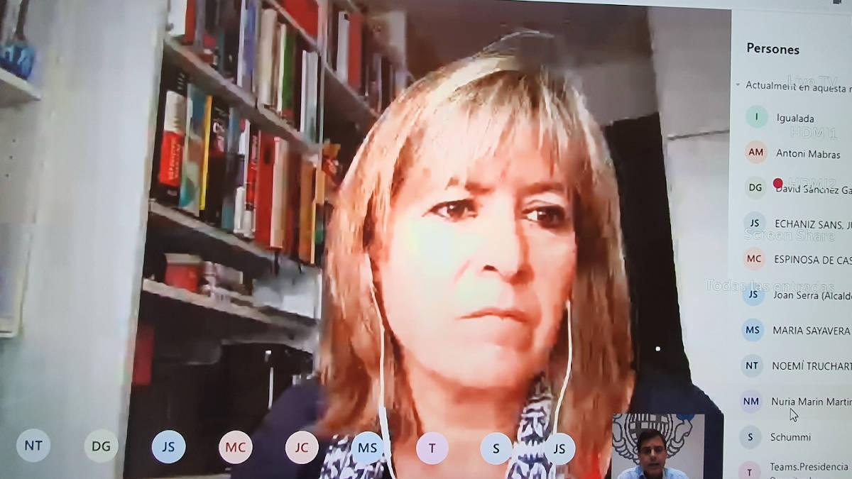 Reunio amb Nuria Marin de DIBA