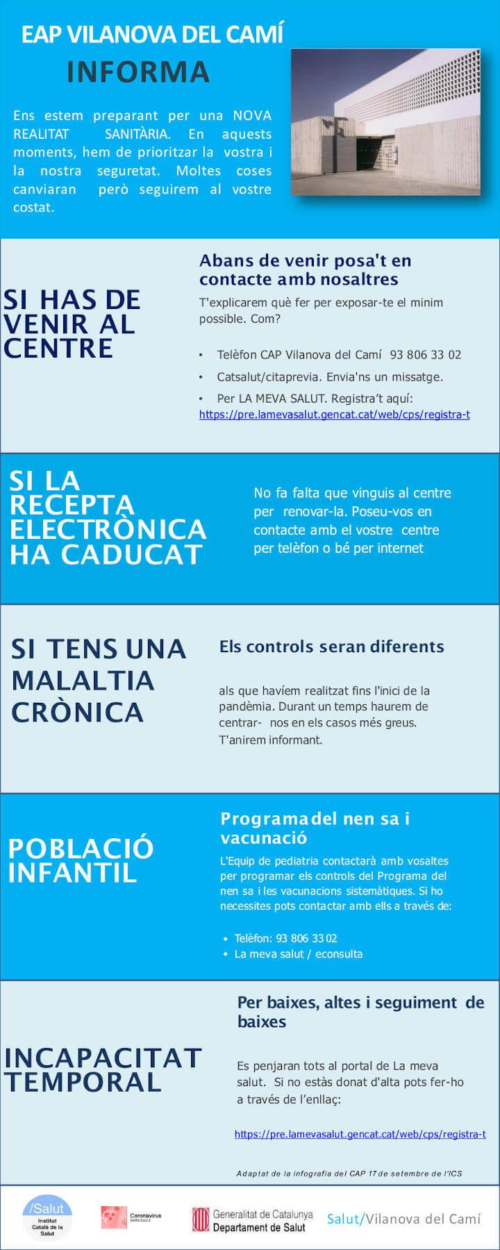 CAP Vilanova del Camí