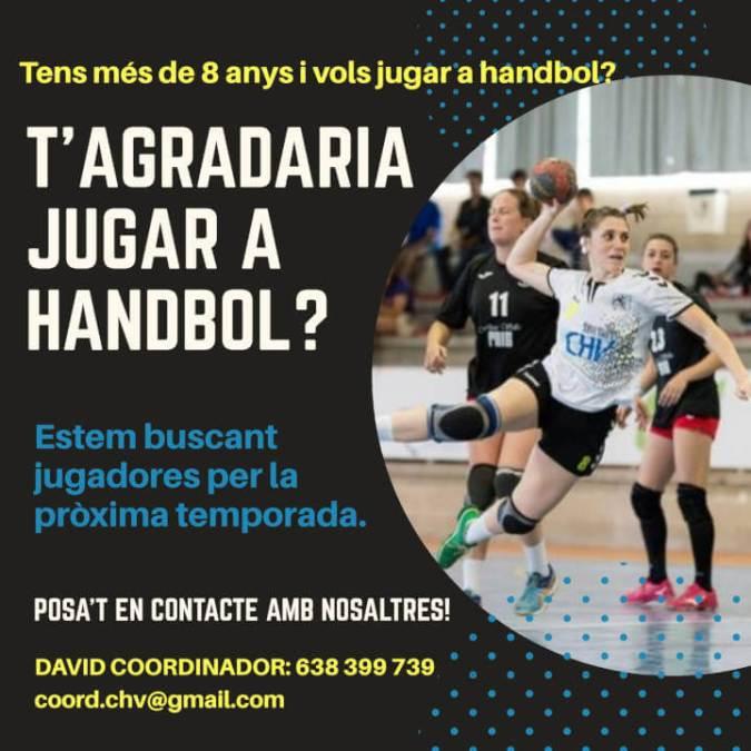 handbol cartell