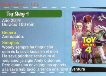 Cineclub Toy Story 4