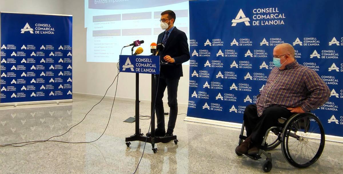 Presentacio diagnosi Consell Comarcal Jordi Cuadras, Xavier Boquete mar 2021