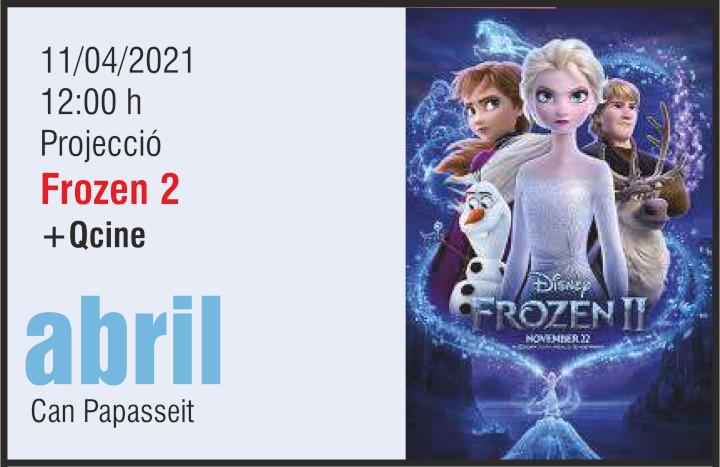 Frozen agenda cultural 10 abril 21