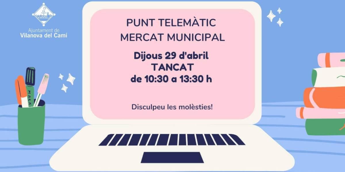 Punt telemàtic Mercat Municipal 1218