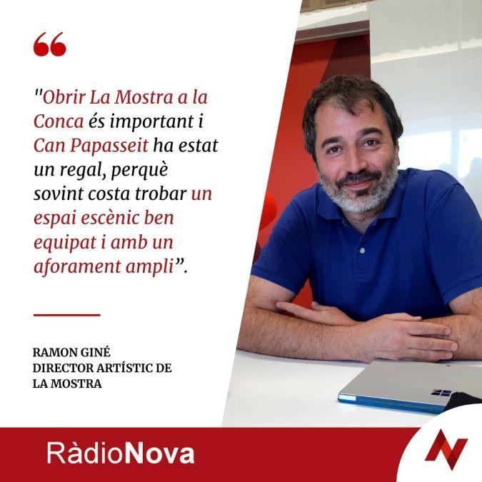 Ramon Gine cita Ràdio