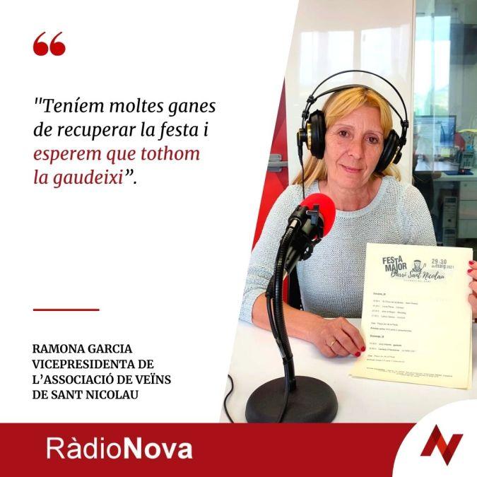 Ramona Garcia cita Ràdio