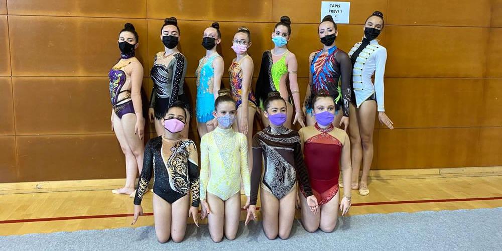 Equip del CE Ballerina que va participar a la final