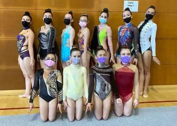Equip del GE Ballerina que va participar a la final